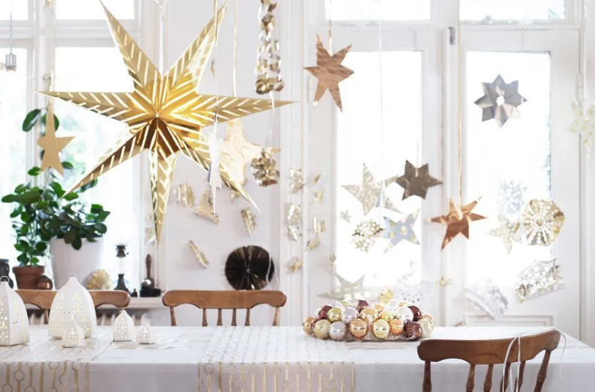 Decoración navideña para tu hogar.