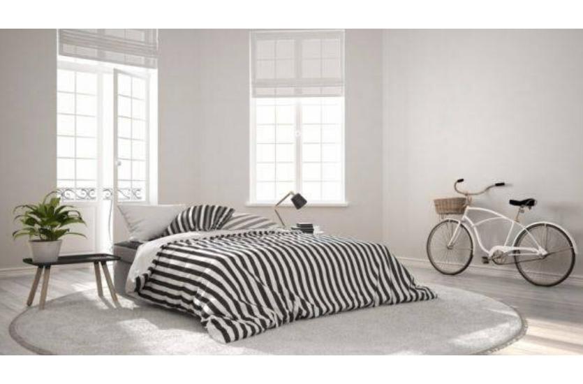 dormitorio neutro a traves de aplicación de diseño