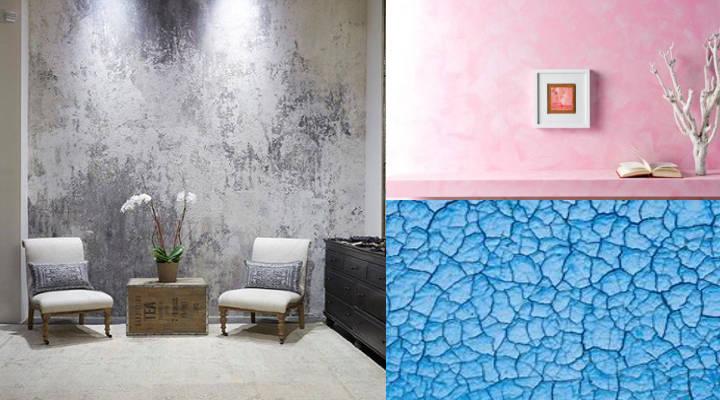 tres técnicas de pintura para interiores