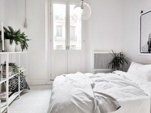 habitación color blanco brilloso