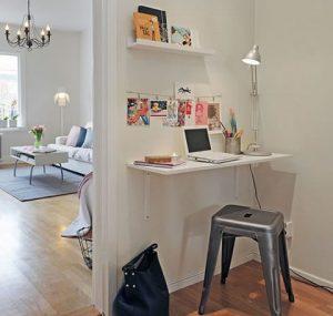 área de estudio minimalista
