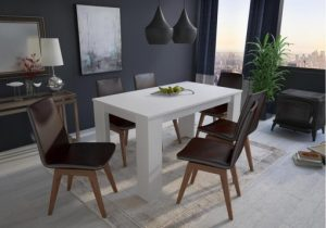 comedor color gris mate oscuro