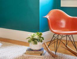 pintura color azul para habitación