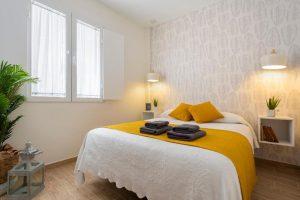 dormitorio color neutro